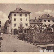 Postales: BURGUETE (NAVARRA) CASA CONSISTORIAL Y ESCUELAS DE LA VILLA, (232). Lote 103228367