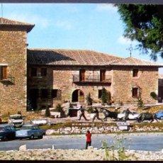 Postales: PAMPLONA -HOSTAL Y MONUMENTO AL TORO- CIRCULADA / P-1035. Lote 103323211