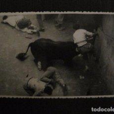 Postales: PAMPLONA - SAN FERMIN - POSTAL ANTIGUA -FOTOGRAFICA RAFAEL BOZANO -VER FOTOS - (50.916). Lote 103323735