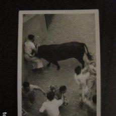 Postales: PAMPLONA - SAN FERMIN - POSTAL ANTIGUA -FOTOGRAFICA J. GALLE -VER FOTOS - (50.920). Lote 103324191