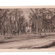 Postales: PAMPLONA, NAVARRA.- JARDINES DE LA TACONERA. L. ROISÍN. Lote 104183895