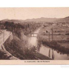 Postales: PAMPLONA, BARRIO ROCHAPEA L.ROISIN. Lote 104185491