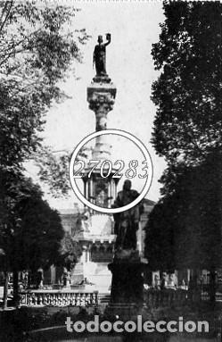 PAMPLONA Nº 24 MONUMENTO A LOS FUEROS DE NAVARRA - L ROISIN - SIN CIRCULAR (Postales - España - Navarra Antigua (hasta 1.939))