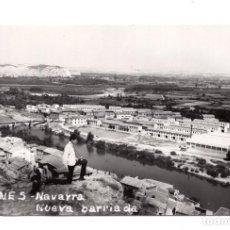 Postales: FUNES - NAVARRA.- NUEVA BARRIADA - POSTAL FOTOGRÁFICA. Lote 104615911