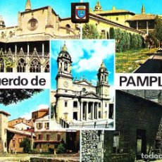 Postales: PAMPLONA -DIVERSOS ASPECTOS- (DOMINGUEZ Nº 15) SIN CIRCULAR / P-376. Lote 105190967