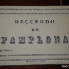 Postales: RECUERDO DE PAMPLONA - 10 POSTALES. Lote 105797867