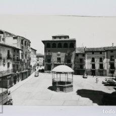 Postales: POSTAL FOTOGRÁFICA - CORELLA, PLAZA DE LOS FUEROS - ED. PARÍS - SIN CIRCULAR. Lote 105961476
