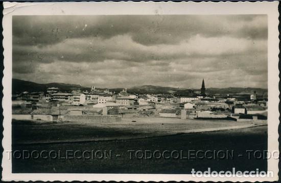 POSTAL OLITE NAVARRA VISTA GENERAL . L. JIMENEZ . CA AÑO 1950 (Postales - España - Navarra Moderna (desde 1.940))