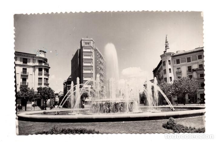 PAMPLONA.- PAMPLONA. PLAZA Y FUENTE PRINCIPE DE VIANA EDICIONES SICILIA (Postales - España - Navarra Moderna (desde 1.940))
