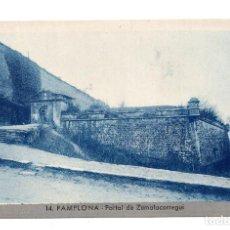 Postales: 14 PAMPLONA.- PORTAL DE ZUMALACARREGUI. L. ROISIN. Lote 107355731