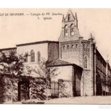 Postales: TUDELA DE NAVARRA.- COLEGIO DE PP. JESUITAS 1.IGLESIA.. Lote 107934339
