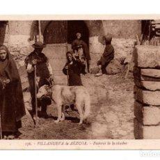 Postales: NAVARRA. VILLANUEVA DE AÉZCOA. PASTORES DE LA CUMBRE. FOTO L. ROISÍN.. Lote 108108467