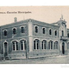 Postales: ESTELLA (NAVARRA) - ESCUELAS MUNICIPALES. L.PÉREZ EDITOR. CLICHÉ AGUIRRE. Lote 108485767