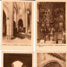 Postales: LOTE DE 12 POSTALES DE TUDELA (NAVARRA). AÑOS 1950. Lote 108740363