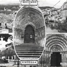 Postales: ESTELLA .- VARIAS VISTAS .- EDICION IMPRENTA GARBAYO. Lote 109605671