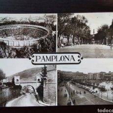 Postales: POSTAL DE RECUERDO DE PAMPLONA. DIFERENTES VISTAS.. Lote 110170942