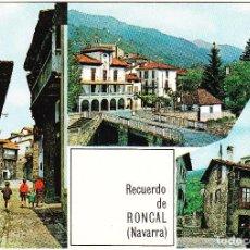 Cartes Postales: NAVARRA - RECUERDO DE RONCAL - TRES VISTAS. Lote 112120871