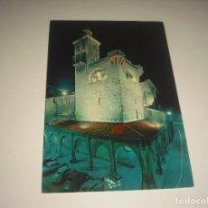 Postales: PAMPLONA . IGLESIA DE SAN NICOLAS , NOCHE.. Lote 112461159