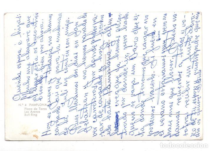 Postales: PAMPLONA Nº 4. PLAZA DE TOROS. POSTALES VAQUERO, FOTO RUPEREZ - Foto 2 - 112470035