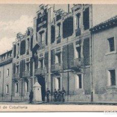 Postales: PAMPLONA-CUARTEL DE CABALLERÍA- LEÓN Nº 7. Lote 112978947