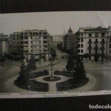 Postales: PAMPLONA - PLAZA CIRCULAR Y AVENIDA SAN IGNACIO - VER REVERSO - (52.232). Lote 114524971