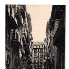 Postales: PAMPLONA (NAVARRA).- CALLE DE ZAPATERIA EDICION DE EUSEBIO RUBIO CIRCULAR . Lote 114842463