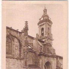 Postales: ANTIGUA POSTAL 6 OÑATE IGLESIA PARROQUIAL DE SAN MIGUEL EDICION UGARTE FOTO L CODINA. Lote 114898559