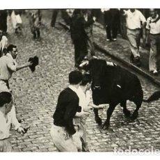 Postales: PAMPLONA ENCIERRO DE LOS TOROS. ED. VAQUERO, FOTO RUPEREZ. SIN CIRCULAR. Lote 114924791