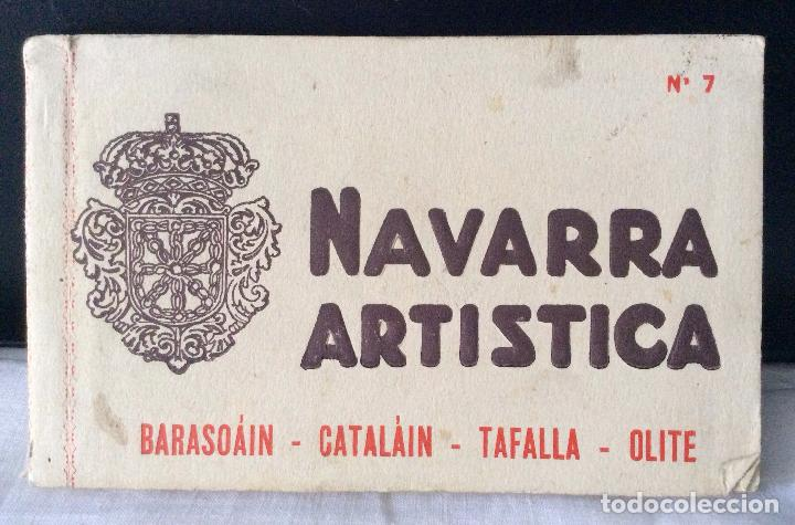 POSTALES DE NAVARRA,Nº7-NAVARRA ARTÍSTICA ,LIBRILLO Nº7 (Postales - España - Navarra Antigua (hasta 1.939))