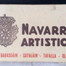 Postales: POSTALES DE NAVARRA,Nº7-NAVARRA ARTÍSTICA ,LIBRILLO Nº7. Lote 115292835