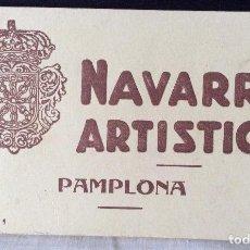 Postales: POSTALES DE PAMPLONA,NAVARRA ARTÍSTICA,Nº1. Lote 115292915
