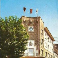 Postales: POSTAL, AZAGRA-NAVARRA, AYUNTAMIENTO, ED. ARRIBAS, ESCRITA. Lote 115735023