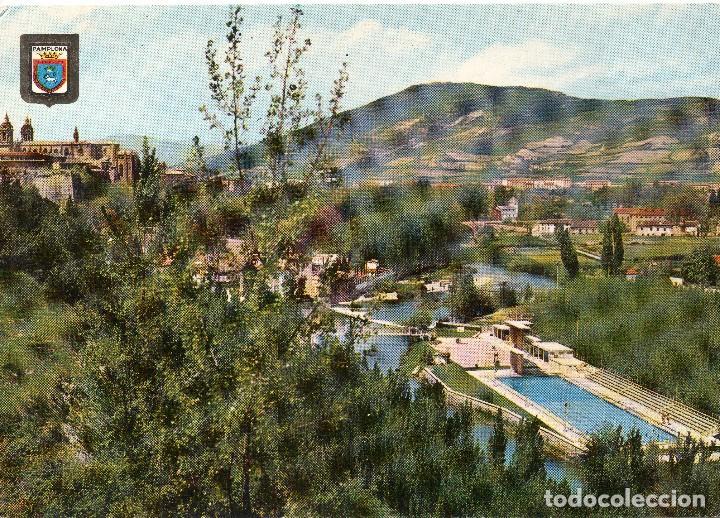 CLUB NATACION Y MONTE SAN CRISTOBAL PAMPLONA (Postales - España - Navarra Moderna (desde 1.940))