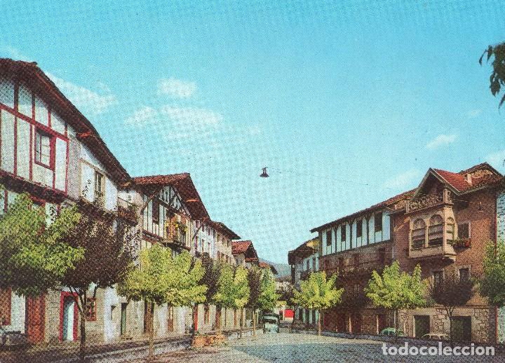 LESACA PLAZA VIEJA (Postales - España - Navarra Moderna (desde 1.940))
