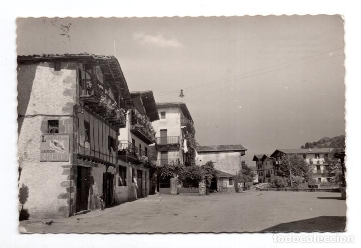 VERA DE BIDASOA (NAVARRA).- PLAZA DEL JAUN DE ALZATE (Postales - España - Navarra Moderna (desde 1.940))