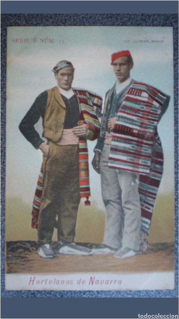 POSTAL SERIE B N°15 HORTELANOS DE NAVARRA (Postales - España - Navarra Moderna (desde 1.940))