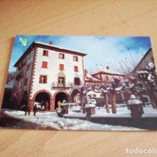 Postales: BURGUETE ( NAVARRA ) PLAZA DEL AYUNTAMIENTO. Lote 119511731