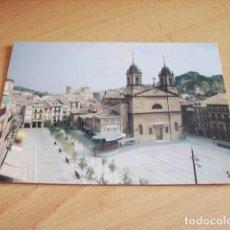 Postales: ESTELLA ( NAVARRA ) PLAZA DE LOS FUEROS. Lote 119512079