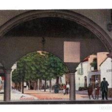 Postales: NAVARRA, SANGÜESA.- PLAZA DE LA GALERÍA.. Lote 119574011