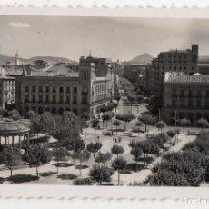 Postales: PAMPLONA. PLAZA DEL CASTILLO Y AVENIDA DE CARLOS III EL NOBLE.. Lote 120086527