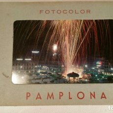 Postales: LIBRO 9 POSTALES FOTOCOLOR DOMINGUEZ - PAMPLONA SERIE A. Lote 120096363