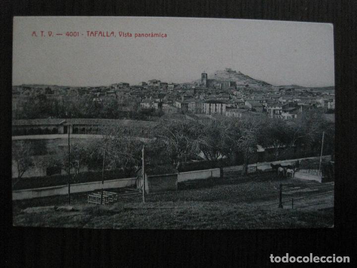 TAFALLA -POSTAL ANTIGUA -VISTA PANORAMICA - ATV 4001 -VER FOTOS-(52.842) (Postales - España - Navarra Antigua (hasta 1.939))