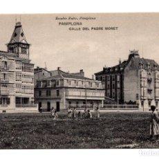 Postales: PAMPLONA (NAVARRA).- CALLE DEL PADRE MORET. EDICION DE EUSEBIO RUBIO CIRCULAR. Lote 120910971