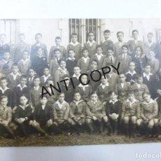 Postales: LOTE DE 4 FOTO POSTALES COLEGIO DE LECAROZ UNA FECHADA EN 1923. Lote 120961715