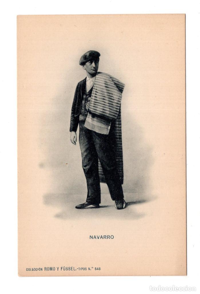 NAVARRA.- COLECCIÓN ROMO Y FUSSEL.- TIPOS Nº 548. (Postales - España - Navarra Moderna (desde 1.940))