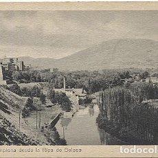 Postales: X118185 NAVARRA PAMPLONA DESDE LA RIPA DE BELOSO. Lote 121490763