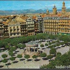 Postales: POSTAL * PAMPLONA , PLAZA DEL CASTILLO * 1971. Lote 121756911