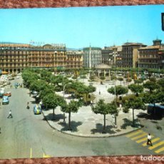 Postales: PAMPLONA - PLAZA DEL CASTILLO. Lote 121846683