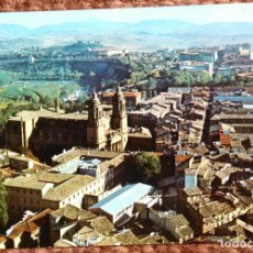 Postales: PAMPLONA - VISTA AEREA DE LA CATEDRAL. Lote 121846843