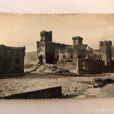 Postales: NAVARRA. POSTAL NO. 2 CASTILLO DE JAVIER VISTA GENERAL (FACHADA PRINCIPAL) A.1960?. Lote 122001935